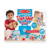 Набор для маленького ветеринара Melissa & Doug Pet Vet 8520, от 3 лет - ХИТ 2019