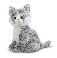 """Мягкая игрушка котенок """"Серая Грейси"""" Melissa&Doug 7525"""