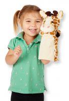 Кукольные игрушки на руку Зоопарк (4 игрушки-животные для кукольного театра)