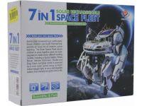 Конструктор на солнечных батарейках Space Fleet (собери космос) 7 в 1