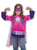 Карнавальный костюм для девочки Супер-Героиня (Melissa&Doug 4784, США)