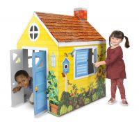 Картонный коттедж Мелисса Доуг 5509_md (США) Для детей от 3 до 12 лет