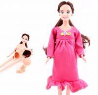Беременная кукла Барби Happy mother с аксессуарами
