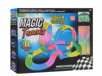 Гоночная чудо-трасса Magic Tracs – 236 деталей и мёртвая петля
