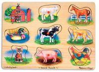 Пазл со звуком для малышей Ферма (Melissa & Doug, США)