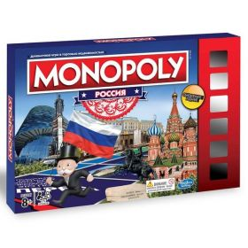 Развивающая настольная игра Монополия Monopoly Россия