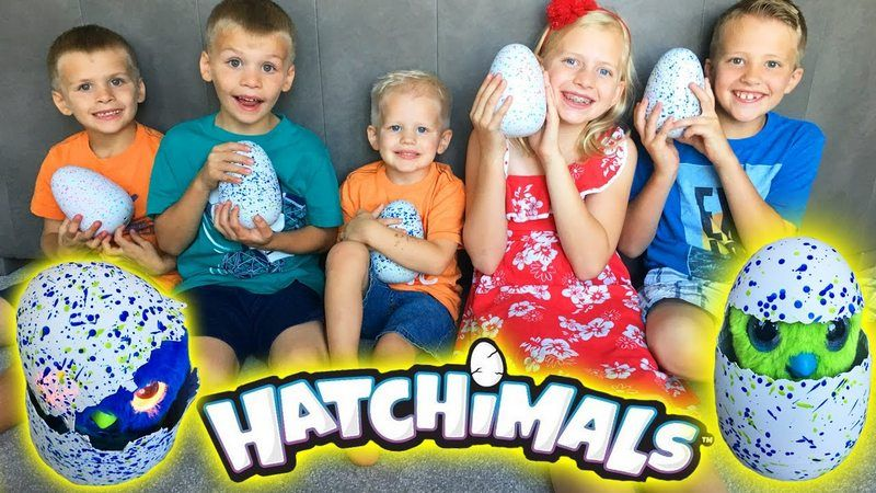 Hatchimals  в яйце